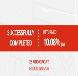 SUCCESSFULLY COMPLETED - GOULBURN NSW (1603)