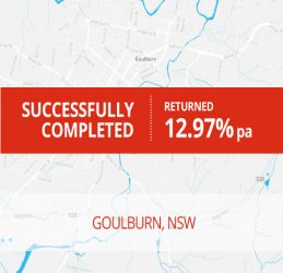 SUCCESSFULLY COMPLETED - GOULBURN NSW (1606)
