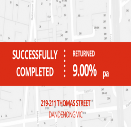 SUCCESSFULLY COMPLETED - DANDENONG VIC (1610)