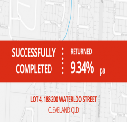 SUCCESSFULLY COMPLETED - CLEVELAND QLD (1611)