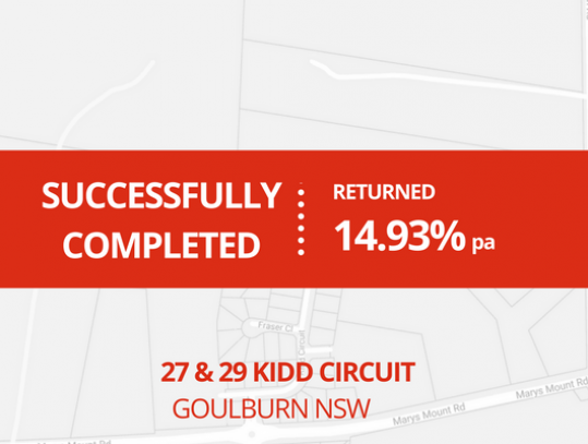 SUCCESSFULLY COMPLETED - GOULBURN NSW (1614)