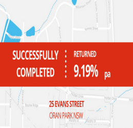 SUCCESSFULLY COMPLETED - ORAN PARK NSW (1702)