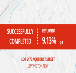 SUCCESSFULLY COMPLETED - LEPPINGTON NSW (1703)