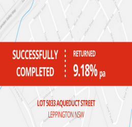 SUCCESSFULLY COMPLETED - LEPPINGTON NSW (1704)