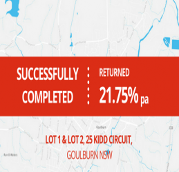 SUCCESSFULLY COMPLETED - GOULBURN NSW  (1705)