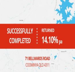 SUCCESSFULLY COMPLETED - COOMINYA QLD (1709)