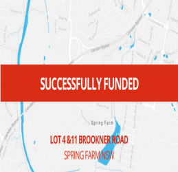 SUCCESSFULLY FUNDED - SPRING FARM NSW (1712)