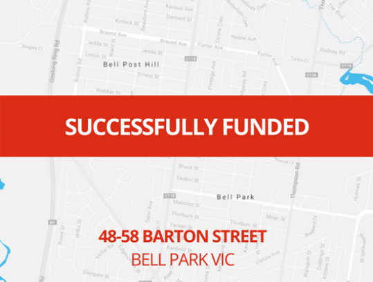SUCCESSFULLY FUNDED - BELL PARK VIC (1802)