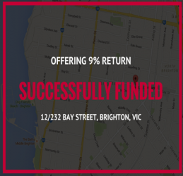 SUCCESSFULLY FUNDED - BRIGHTON VIC (1609)
