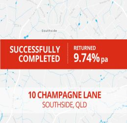 SUCCESSFULLY COMPLETED - SOUTHSIDE QLD (1601)