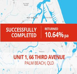 SUCCESSFULLY COMPLETED - PALM BEACH QLD (1401)